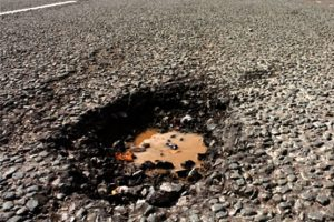 Pothole Repairs in Glastonbury